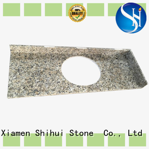 Shihui manmade solid stone countertops factory price for kitchen