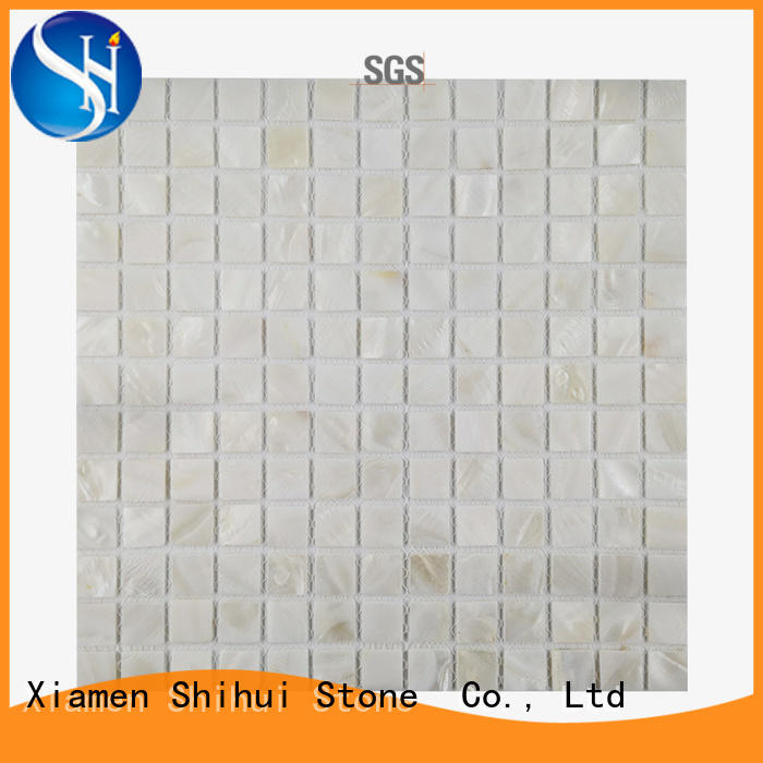 Shihui tile stone mosaic directly sale for toilet