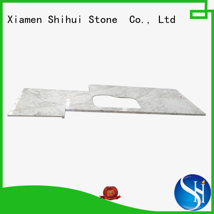 Shihui black top stone countertops personalized for hotel