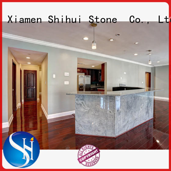 solid quartz countertop for bar Shihui