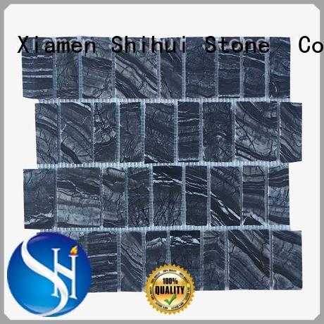 Shihui stone mosaic backsplash from China for bathroom