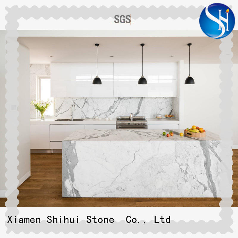 Shihui antique engineered stone countertops wholesale for kitchen