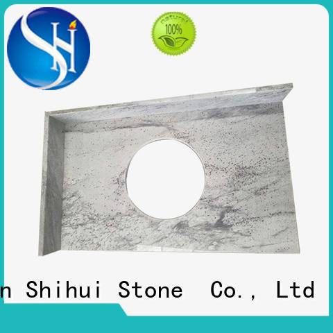 quality best stone kitchen countertops factory price for hotel