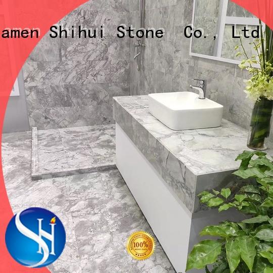 Shihui excellent natural stone marble tile design for household