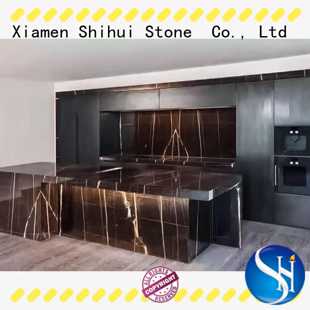 manmade marble vanity countertop supplier for bar