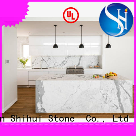 Shihui manmade stone countertops personalized for hotel