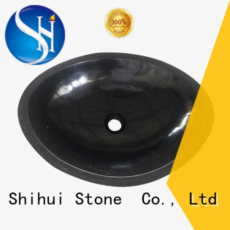 Shihui professional stone wall mount sink for kitchen