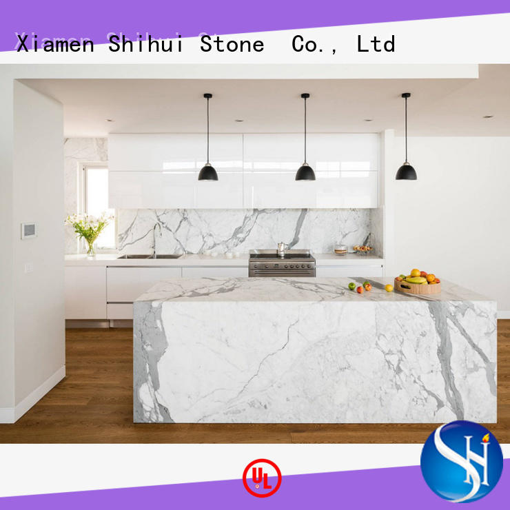 Shihui juparana manmade stone countertops wholesale for bar