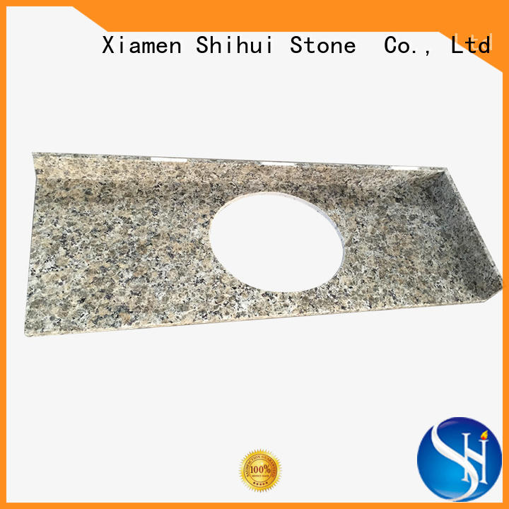 sturdy manufactured stone countertops personalized for bar