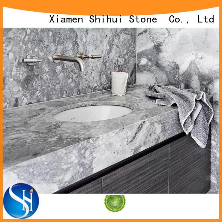 Super White Marble Countertop Stone Slab Countertop