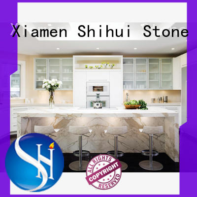 Shihui manmade stone countertop factory price for hotel