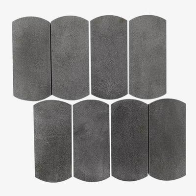 Arc Hainan Grey Basalt Mosaic Tile Stone Mosaic