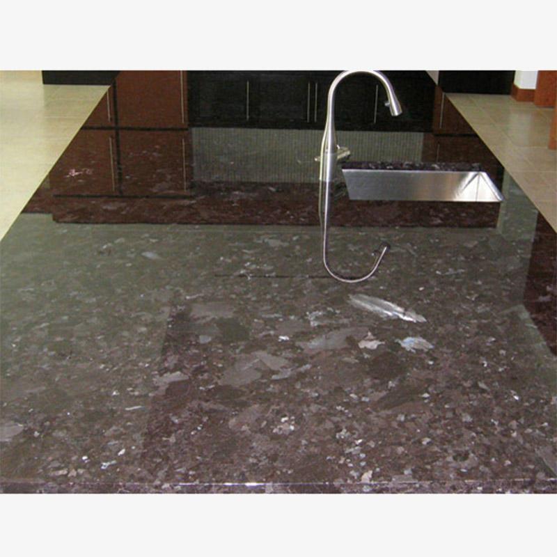 Antique Brown Granite Manufactured Stone Countertops