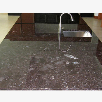 Antique Brown Granite Manufactured Stone Countertops
