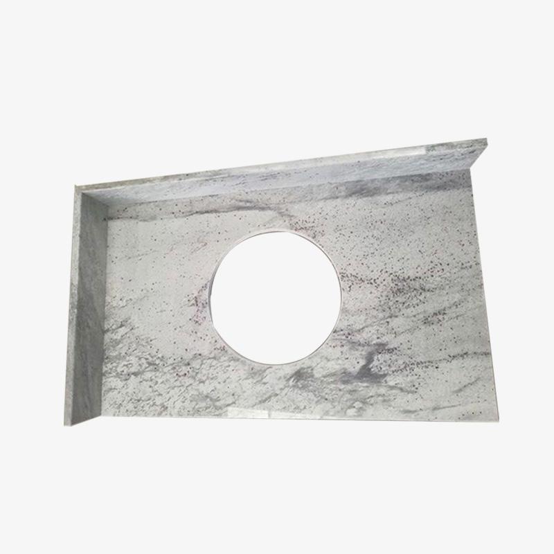 Solid Stone Countertops River White Granite Countertop