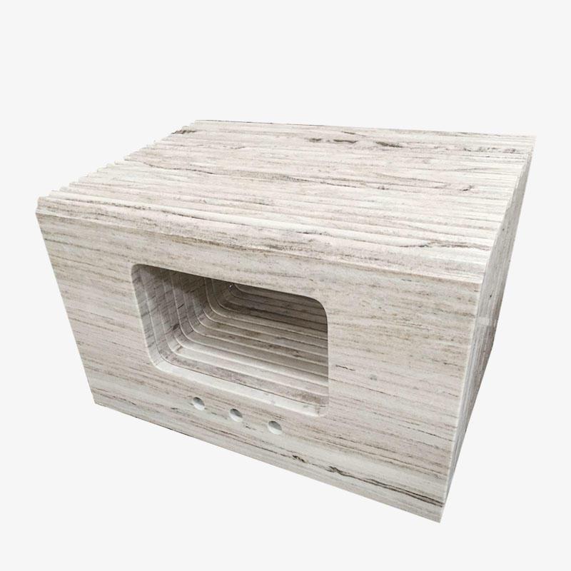 Crystal Wood Grain Marble Countertop Quartz Kitchen Countertops