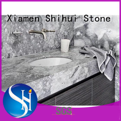 calacatta best stone kitchen countertops factory price for bar