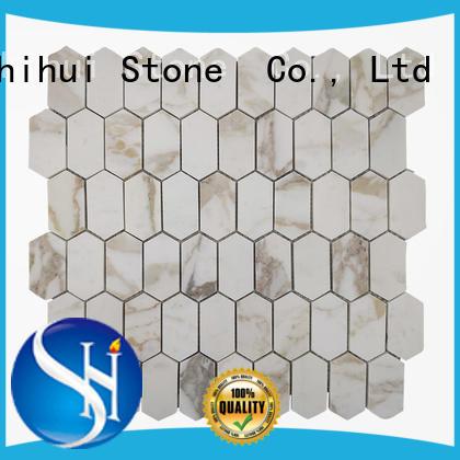practical stone mosaic backsplash manufacturer for indoor