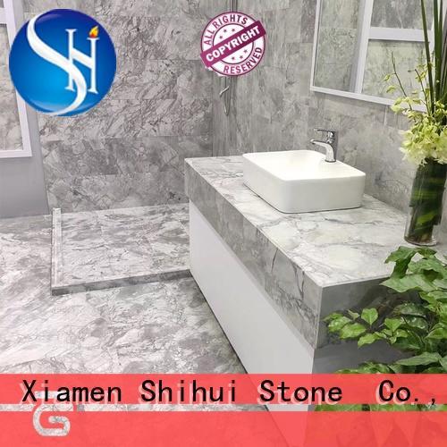 popular marble stone tile design for indoor
