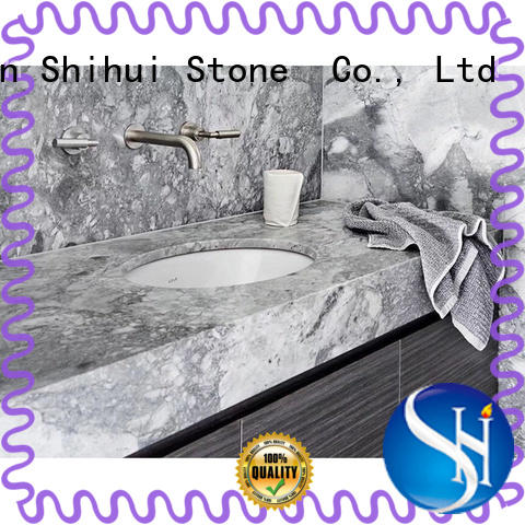 black stone countertop wholesale for kitchen