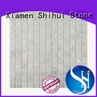 Shihui oriental stone mosaic tile backsplash series for toilet