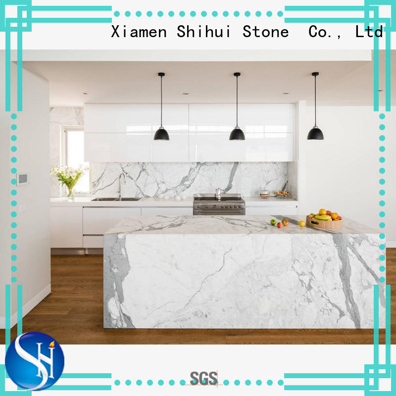 stone bathroom countertop factory price for kitchen Shihui