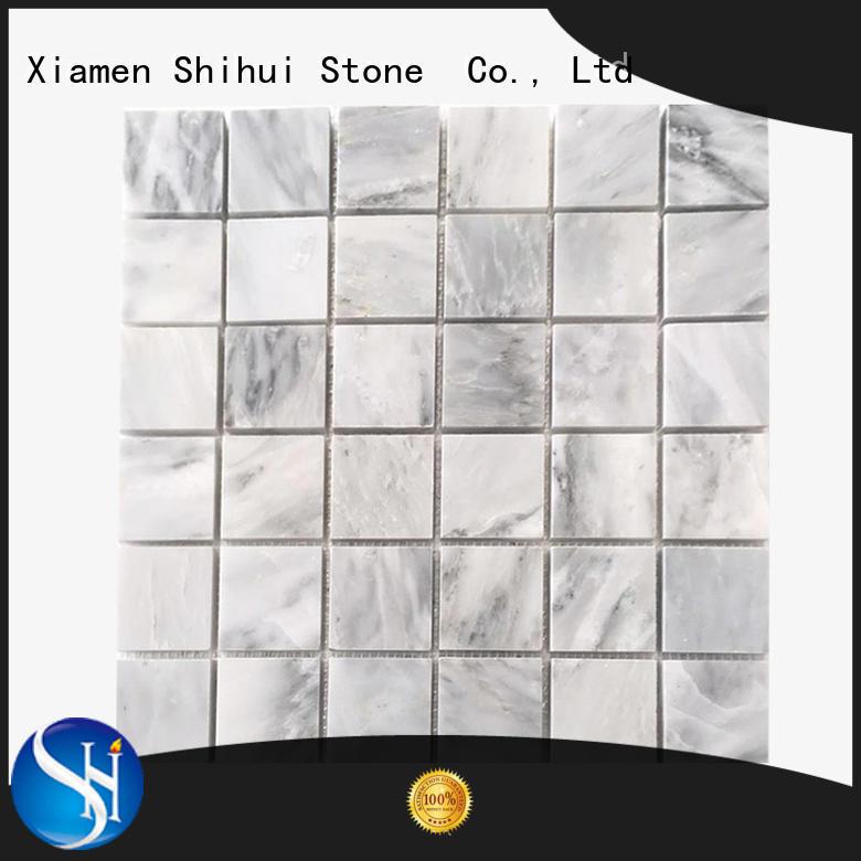 Shihui oriental natural stone mosaic tiles manufacturer for bathroom