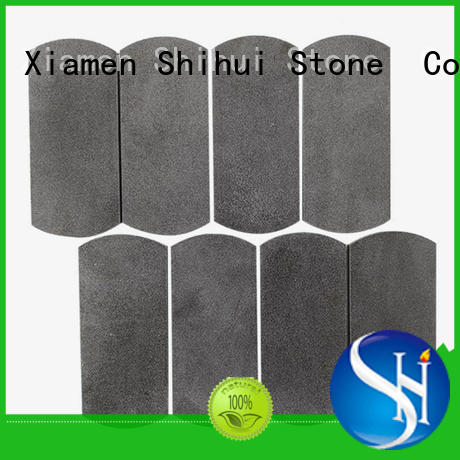 Shihui basalt stone mosaic backsplash series for toilet