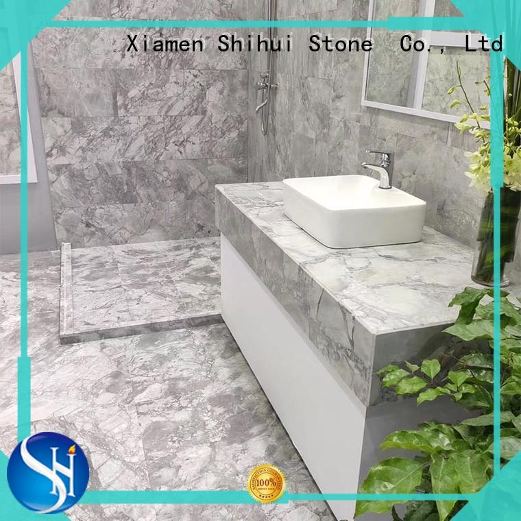 Shihui cost-effective statuary marble tile for indoor