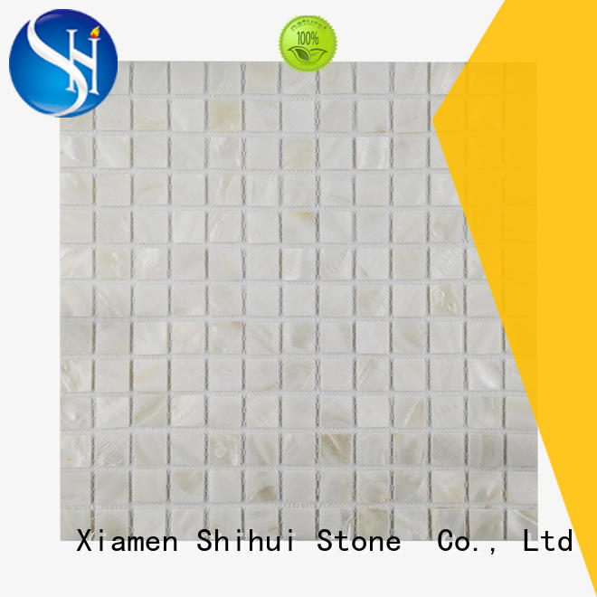 ivory natural stone tile mosaic directly sale for toilet