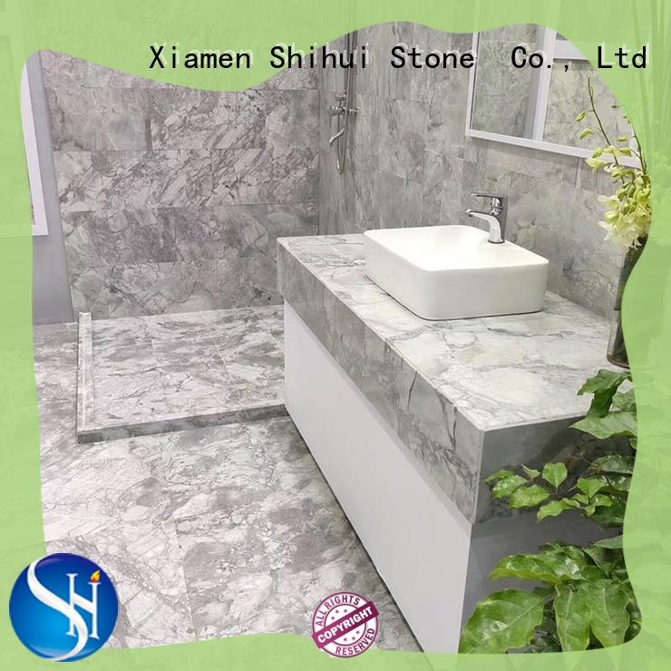Shihui natural stone marble tile design for household