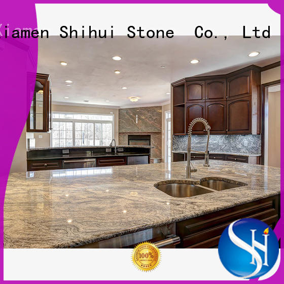 Shihui manmade stone tile countertops personalized for bathroom