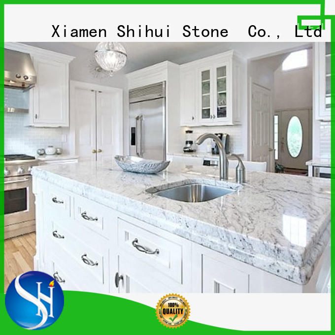 manufactured stone countertops factory price for bathroom Shihui