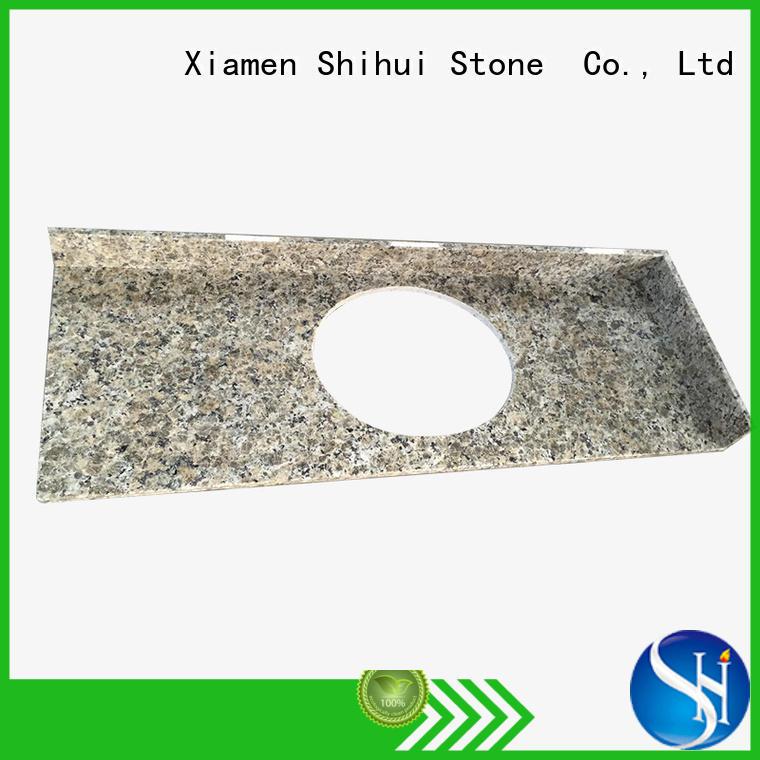 Shihui manmade artificial stone countertops for hotel