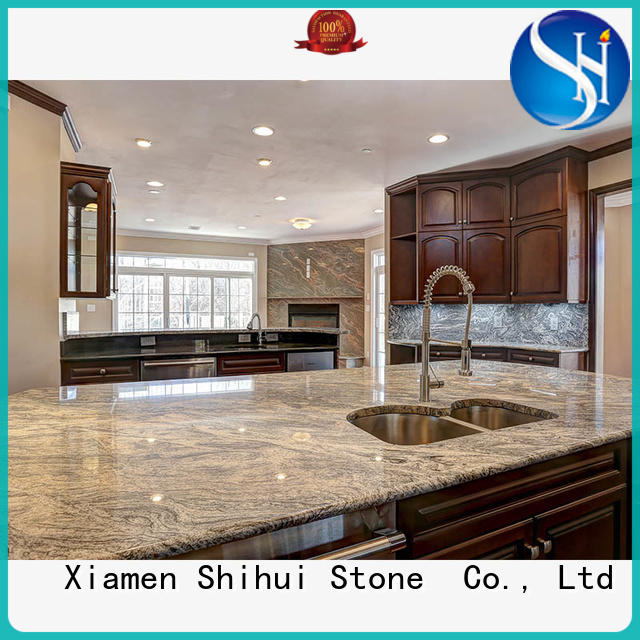 Shihui quality solid stone countertops factory price for bar