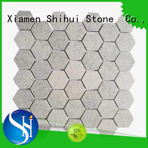 durable stone mosaic backsplash customized for indoor