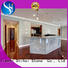 Engineered Stone Countertops Silver Galaxy Grey Granite Countertop