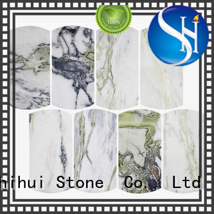Shihui natural stone mosaic tiles series for indoor