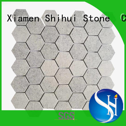 Shihui stone mosaic backsplash series for indoor