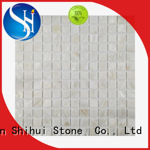 Shihui durable natural stone mosaic tiles manufacturer for household