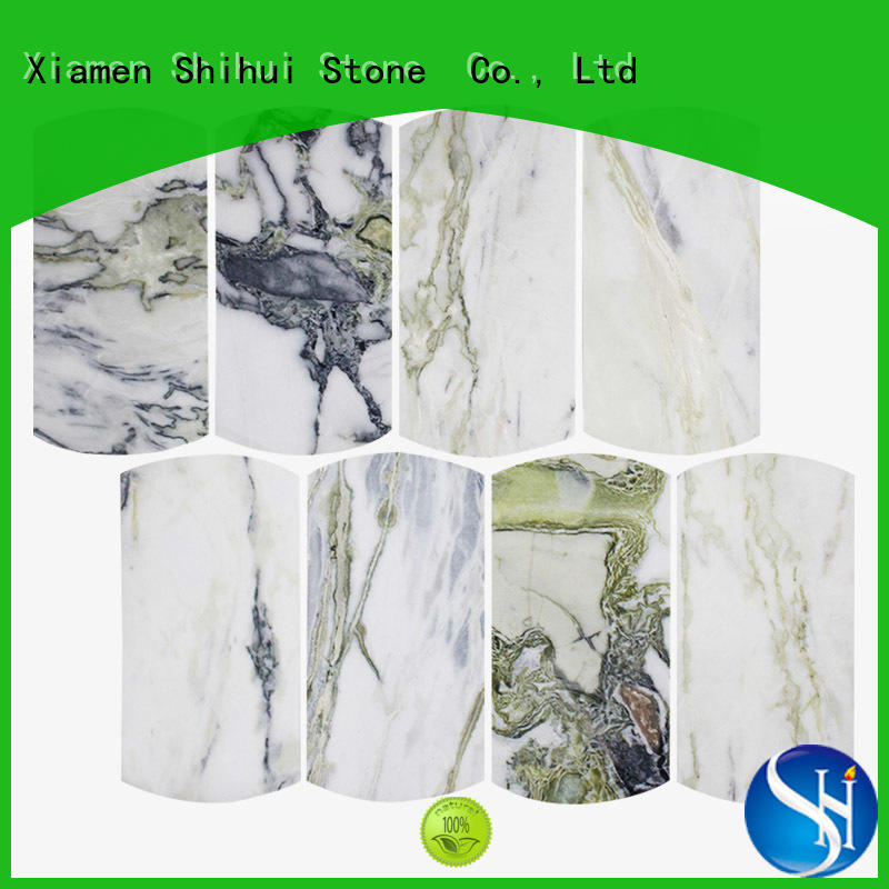 Shihui natural stone tile mosaic series for bathroom