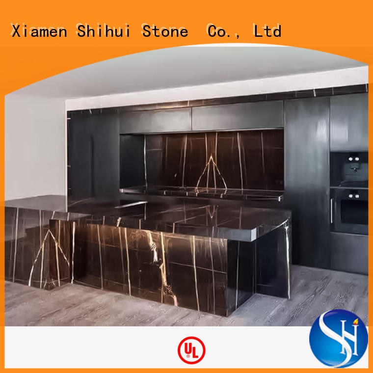 Shihui solid stone countertops factory price for bathroom