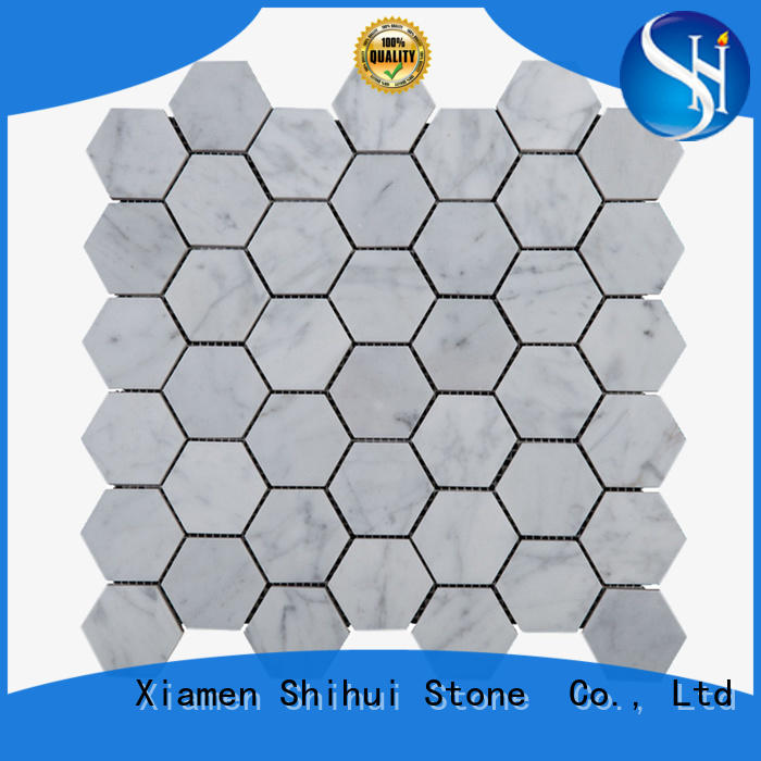 Shihui quality natural stone tile mosaic series for indoor