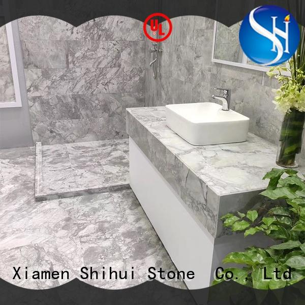 Shihui natural stone marble tile with good price for household