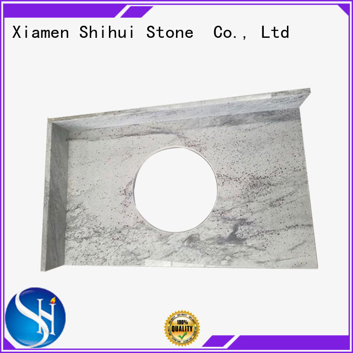 Shihui sturdy manufactured stone countertops personalized for bar