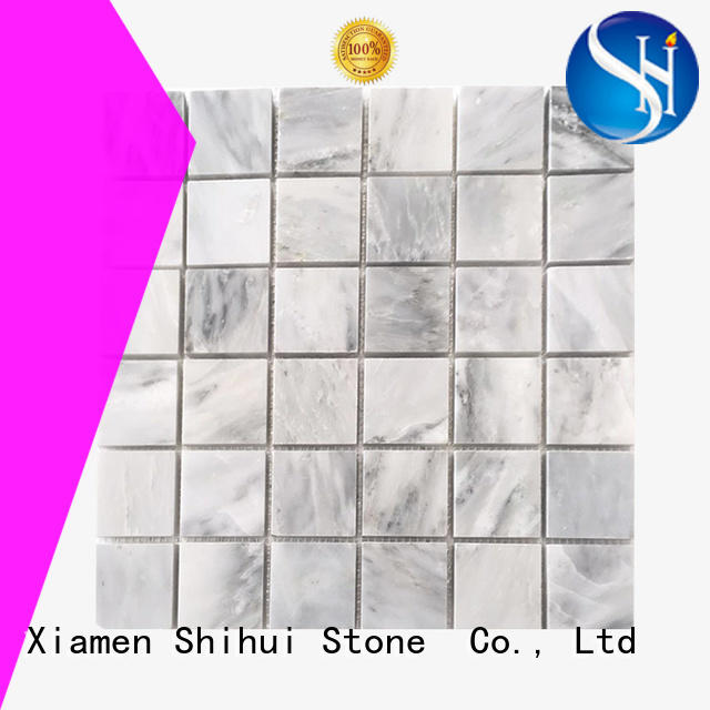 Shihui natural stone tile mosaic manufacturer for toilet