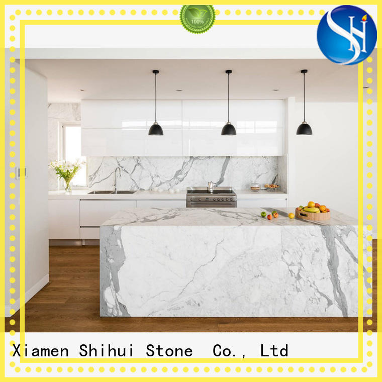 Shihui stable stone slab countertop factory price for kitchen