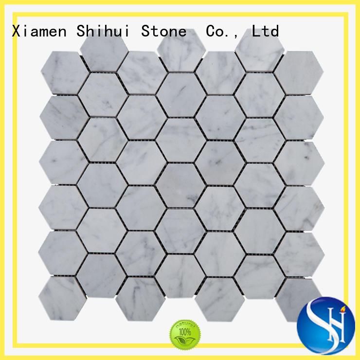 stone mosaic backsplash series for household Shihui