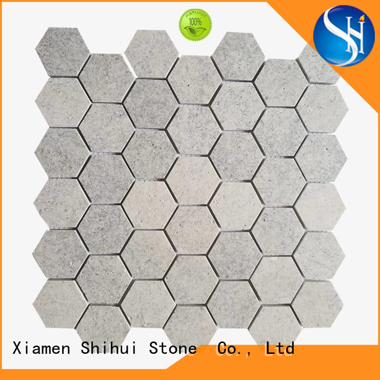 grey tile stone mosaic directly sale for toilet
