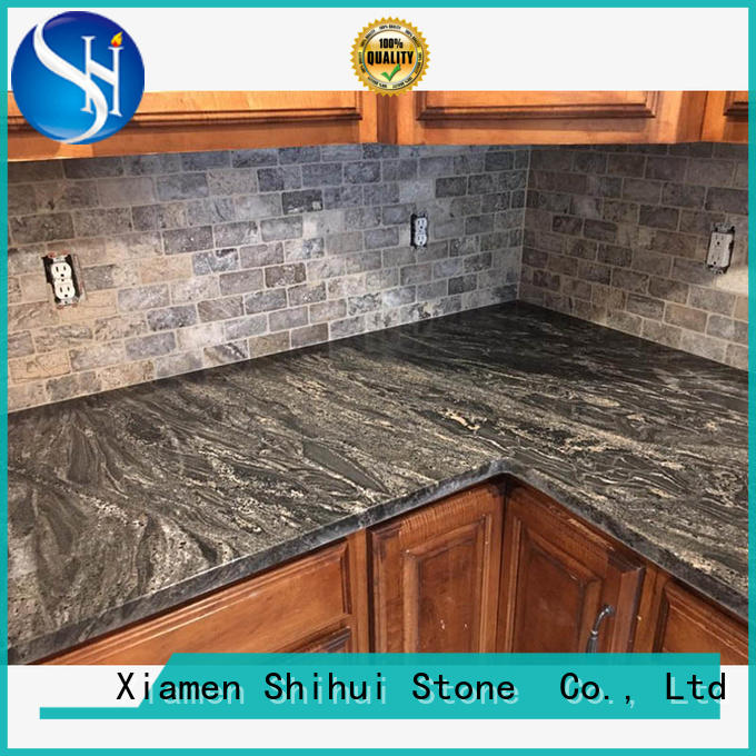 sturdy engineered stone countertops factory price for bathroom